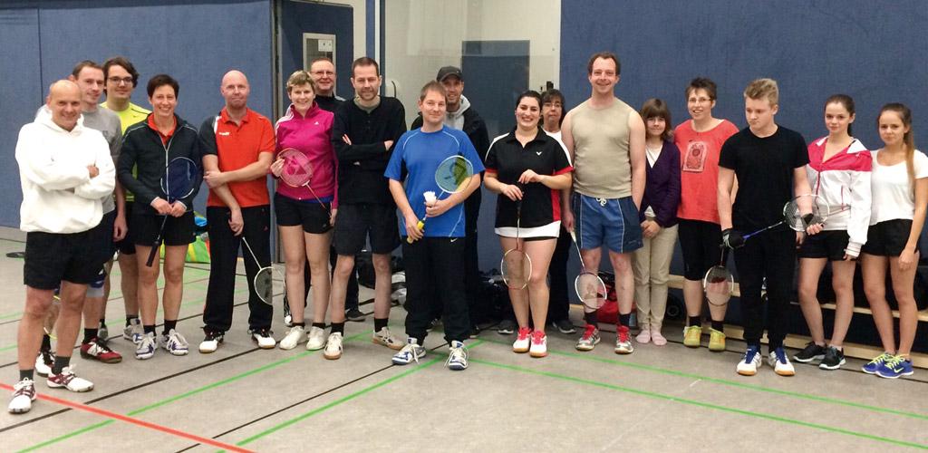Die Badminton-Sparte des Tus Syke e.V. freut sich über neue Mitglieder