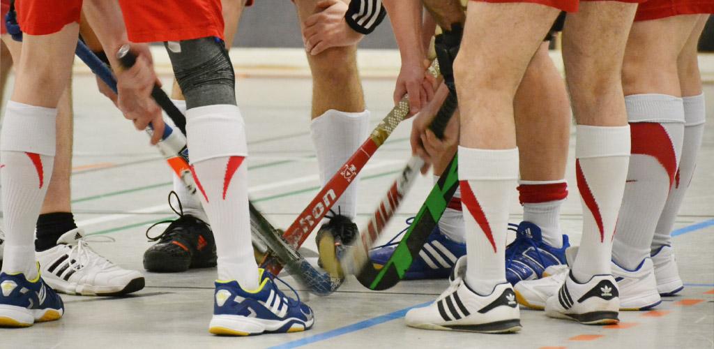 Dir Hockey-Spieler des Tus Syke e.V. beim Spiel