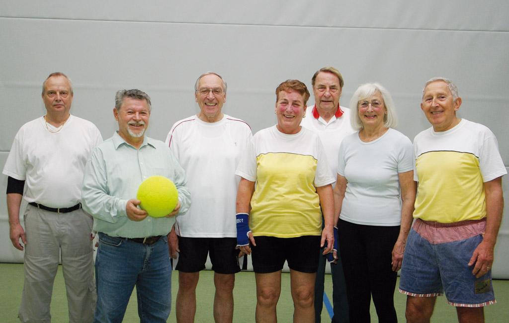 Die Mitglieder der Prellball-Sparte des Tus Syke e.V. freut sich auf Zuwachs
