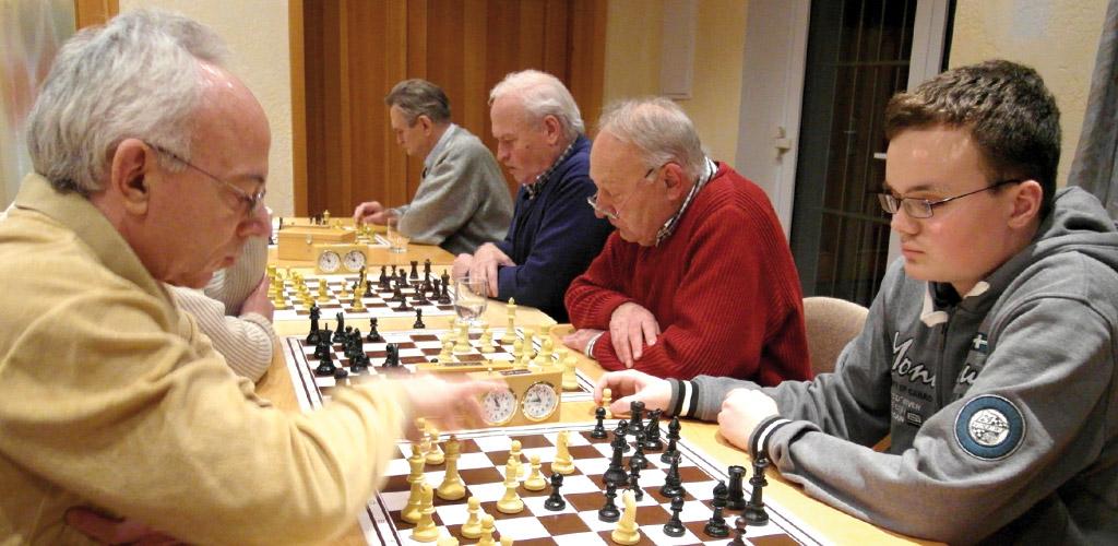 Die Schachsparte freut sich auf Interessierte