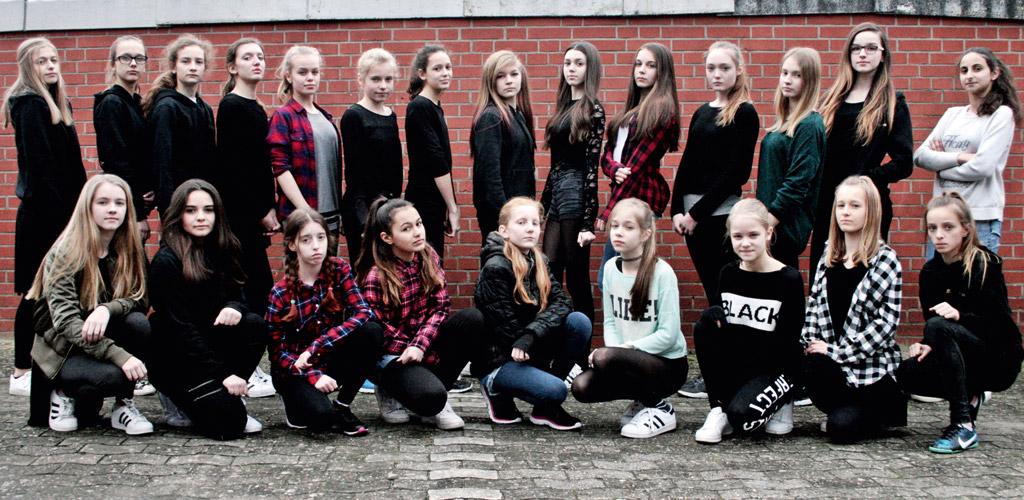 Die erfolgreiche Streetdance-Sparte des Tus Syke e.V. freut sich über neue Tänzer