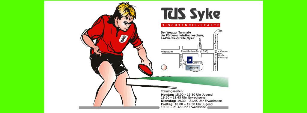 Sparte Tischtennis Tus Syke