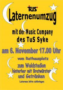 Laternenumzug @ Rathaus Syke/ Waldstadion | Syke | Niedersachsen | Deutschland
