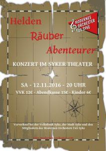 Jahreskonzert - Modernes Orchester @ Syker Theater | Syke | Niedersachsen | Deutschland