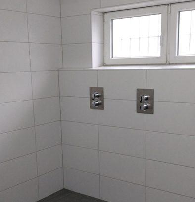 Dusche nach der Sanierung
